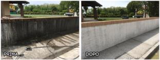 Idropulizia Muro Cemento
